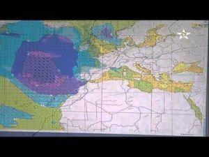 نشرة انذارية من مديرية الارصاد الجوية لعدد من المدن المغربية
