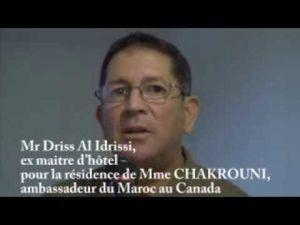 اتهامات خطيرة لسفيرة المغرب بكندا المكناسية نزهة الشقروني