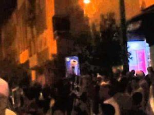 احتجاج ساكنة قرطبة للمطالبة بتزفيت شوارع حيهم