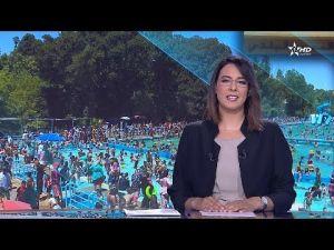 المسبح البلدي بمكناس على القناة الأولى