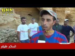 تقرير القناة الأولى حول ضحية مقلع الرمال العشوائي بمجاط