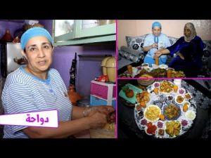 فطور مغربي%100 مع الفنانة سعاد الوازاني