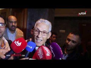 الداودي تلف وعجز عن إعطاء تصريح لوسائل الاعلام حول احتجاجه مع عمال سنطرال