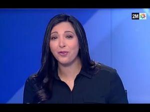 دموع مقدمة الأخبار إحسان بنبل عند إعلانها مغادرة مراد المتوكل