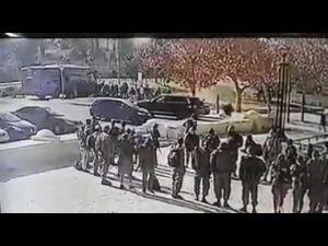 لحظة دهس عدد من جنود الاحتلال الصهيوني