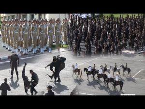 شاهد حفل تخرج فوج القوات المساعدة ببنسليمان