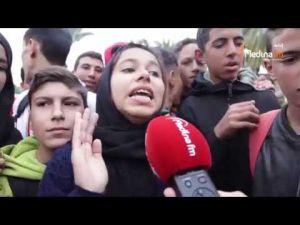 احتجاج تلاميذ مكناس متواصل وهذه مطالبهم