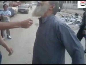 بلطجية يحرقون لحية مسن مصري لرفضهم نصيحته