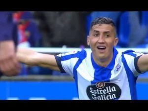 ابن الأطلس فيصل فجر يتألق مع فريقه أمام برشلونة