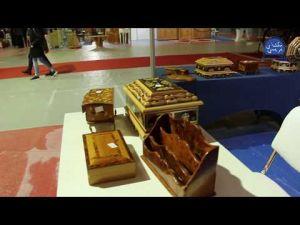 جولة داخل أروقة المعرض الدولي للخشب بمكناس