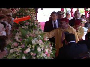 لقطة طريفة تثير ضحك الأمير مولاي الحسن في حفل عيد العرش المجيد