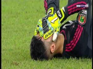 بكاء لاعبي المنتخب المغربي بعد الهزيمة