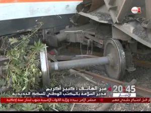 ملابسات حادث قطار زناتة في تصريح مدير السلامة بالمكتب الوطني للسكك الحديدية