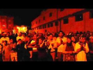 وقفة احتجاجية لساكنة حي سيدي بوزكري بمكناس