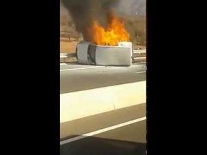 حادثة سير خطيرة على الطريق السيار اكادير مراكش