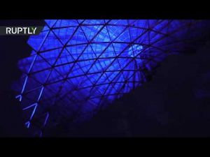 أكبر قبة سماوية في العالم تفتتح في سان بطرسبورغ