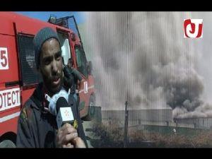 تفاصيل الحريق الكبير بشركة المفروشات ''ريشبوند'' بالبرنوصي الدار البيضاء