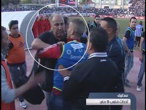 هكذا نعت الحمار المسمى حمار (رئيس وفاق سطيف) المغاربة باليهوووود!!