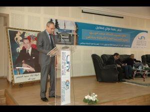 مراسيم تنصيب المدير الجديد للمدرسة العليا للأساتذة بمكناس