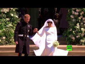 الزغاريد تعلو في زفاف الأمير هاري وميغان.. فمن مطلقها؟