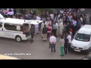 جنازة رجل الأعمال المغربي ابراهيم زنيبر بمكناس
