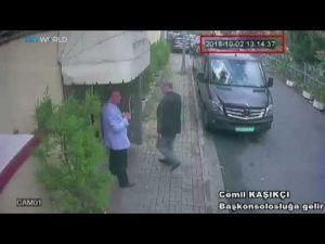 مقاطع مصورة جديدة في قضية اختفاء خاشقجي