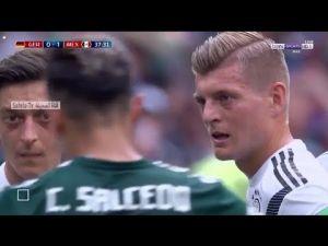 ملخض مباراة ألمانيا 0 1 المكسيك