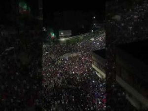 أجواء خيالية في مدينة مكناس بعد فوز المنتخب المغربي - YouTube