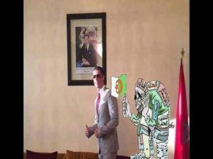 رونالدو ينشر فيديو مباشر له من المغرب