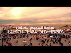 مشاهد من ساحة لهديم بمكناس