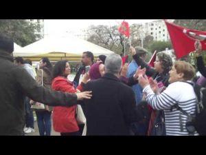 مواجهات بين المغاربة والبوليساريو في منتدى تونس الاجتماعي