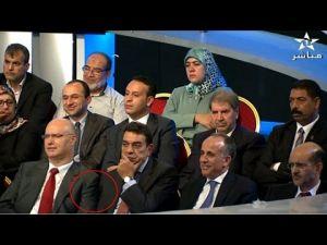 لقطة طريفة لمحمد الوفا في برنامج ضيف الاولى
