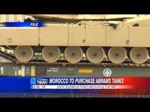 دبابات أمريكية الصنع في طريقها الى المغرب