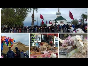 جولة بمدينة مكناس لنقل أجواء الاحتفال بذكرى المولد النبوي