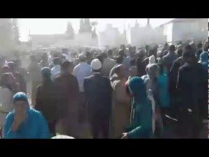 فوضى عارمة عند بوابة المعرض الدولي للفلاحة بمكناس