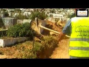 بالفيديو شاهد لحظة استخراج أفاعي سامة من مقابر مكناس