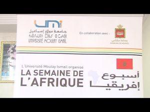 جامعة مولاي اسماعيل تنظم اسبوع افريقيا بمكناس