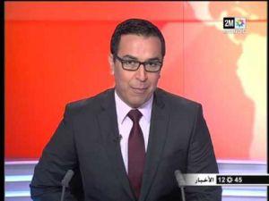 زلة لسان صحفي دوزيم