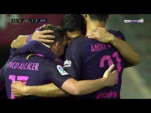 اهداف مباراة برشلونة وغرناطة 4-1 [ شاشة كاملة ] تعليق رؤوف خليف
