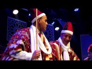 الجذبة في مهرجان عيساوة بمكناس