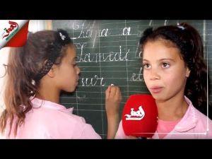 تعرف على سارة التلميذة ذات الـ9 سنوات التي أبهرت المغاربة بخطها الرائع