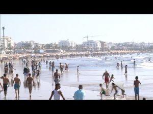 أجواء الاصطياف بشاطئ أصيلا الرائع - صيف 2017