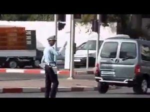 شرطي المرور الذي اختاره الفايسبوكيون رقم واحد في المغرب