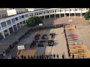 احتجاج تلاميذ الأقسام التحضيرية بثانوية مولاي اسماعيل بمكناس
