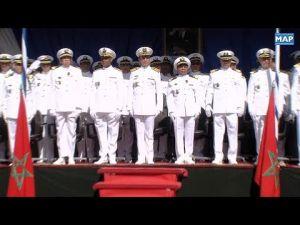 البحرية الملكية المغربية تحتفي بالذكرى 62 لتأسيس القوات المسلحة الملكية