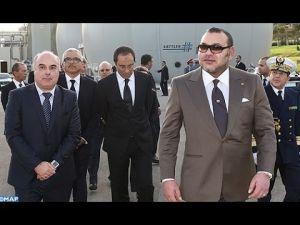 الملك يدشن محطة معالجة المياه العادمة بمدينة فاس
