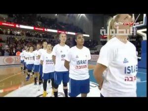 جماهير تركية تقذف سيدات اسرائيل لكرة السلة بأكياس القمامة