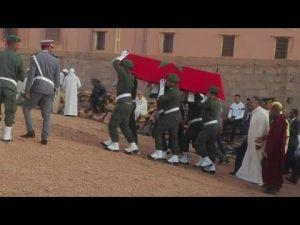 تنغير: تشييع جثمان الشاب الذي توفي في التجنيد بمكناس بجنازة رسمية