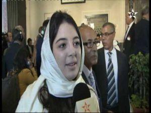 أول تصريح إعلامي لأصغر برلمانية في المغرب