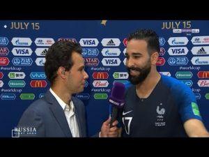 عادل رامي : اليوم أنا بطل العالم مع فرنسا ولكن أفتخر بأنني مغربي